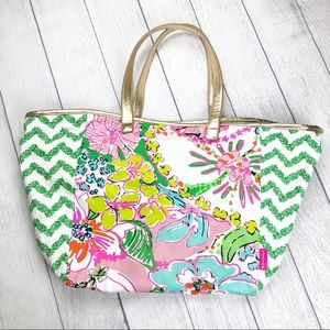Lilly Pulitzer for Target Nosey Posey Floral Tote